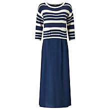 Buy Weekend MaxMara Ontario Maxi Dress, Ultramarine Online at johnlewis.com