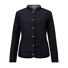Buy Gerry Weber Reversible Padded Jacket, Indigo/Off White Online at johnlewis.com
