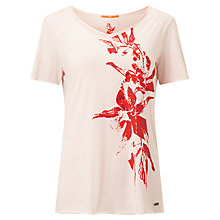 Buy BOSS Orange Vashirt T-Shirt, Pastel Pink Online at johnlewis.com