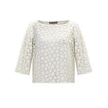 Buy Marella Arak Star Top, White Online at johnlewis.com