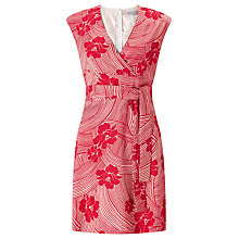 Buy Marella Macula Printed Dress, Ruby Online at johnlewis.com