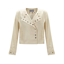 Buy Marella Lolly Eyelet Jacket, Cream Online at johnlewis.com