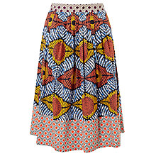 Buy Weekend MaxMara Cellula Printed Skirt, Multi Online at johnlewis.com