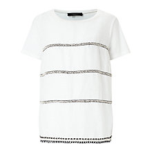 Buy Weekend MaxMara Silla T-Shirt, White Online at johnlewis.com