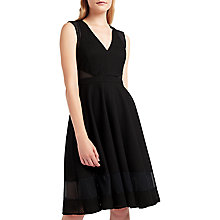Buy Marella Body Flared Dress, Black Online at johnlewis.com