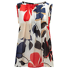 Buy Marella Derrik Floral Print Top, Powder Online at johnlewis.com