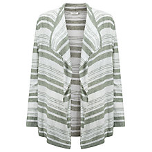 Buy Gerry Weber Linen Mix Cardigan, Ecru/Green Online at johnlewis.com
