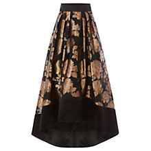 Buy Coast Flower Rhian Skirt, Gold Online at johnlewis.com