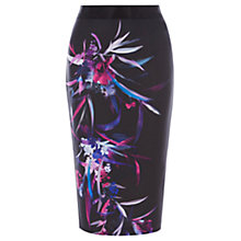 Buy Coast Hudson Print Pencil Skirt, Multi Online at johnlewis.com
