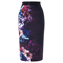 Buy Coast Eton Print Pencil Skirt, Multi Online at johnlewis.com