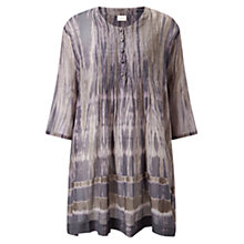 Buy East Shibori Tunic Top, Grey Online at johnlewis.com
