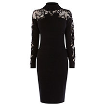 Buy Coast Naomi-Jayne Knit Dress, Black Online at johnlewis.com