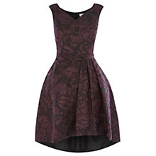 Buy Coast Monnisha Jacquard Dress, Black Online at johnlewis.com