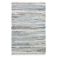 Buy John Lewis Denim Weave Rug, Blue Online at johnlewis.com