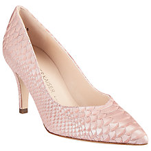Buy Peter Kaiser Elektra Pointed Toe Stiletto Court Shoes, Pink Online at johnlewis.com