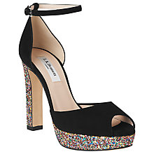 Buy L.K. Bennett Selina Peep Toe Sandals Online at johnlewis.com