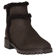 Buy L.K.Bennett Thomasine Ankle Boots, Chocolate Online at johnlewis.com