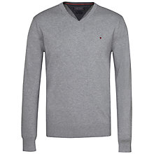 Buy Tommy Hilfiger Prime V-Neck Jumper Online at johnlewis.com