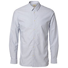 Buy Selected Homme Vince Oxford Shirt, White Online at johnlewis.com