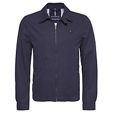 Buy Tommy Hilfiger New Ivy Cotton Jacket, Navy Online at johnlewis.com