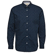 Buy Selected Homme Marcel Shirt, Dark Sapphire Online at johnlewis.com