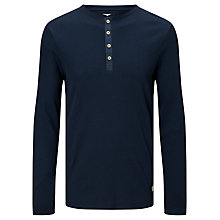 Buy Selected Homme Alex Henley Top, Dark Sapphire Online at johnlewis.com