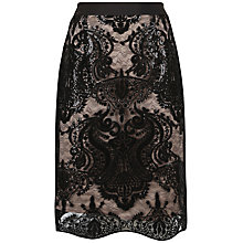Buy Fenn Wright Manson Galaxy Skirt, Black Online at johnlewis.com