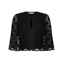 Buy Damsel in a dress Vesper Lace Cape, Black Online at johnlewis.com