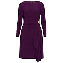 Buy Gina Bacconi Gold Buckle Trim Jersey Dress Online at johnlewis.com