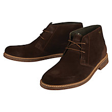 Buy Barbour Readhead Nubuck Chukka Boots, Cognac Online at johnlewis.com