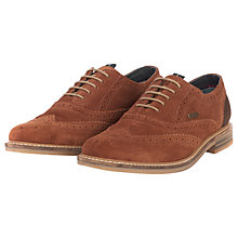 Buy Barbour Redcar Leather Brogues Online at johnlewis.com