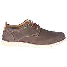 Buy Barbour Atkinson Nubuck Shoes, Truffle Online at johnlewis.com
