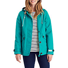 Buy Joules Right as Rain Coast Waterproof Jacket, Emerald Green Online at johnlewis.com