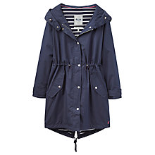Buy Joules Right as Rain Swithin Waterproof Parka, Navy Online at johnlewis.com