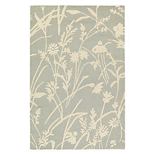Buy John Lewis Aster Meadow Rug, Blue Online at johnlewis.com