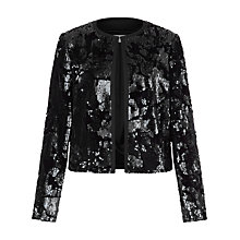 Buy Fenn Wright Manson Petite Universe Jacket, Black Online at johnlewis.com