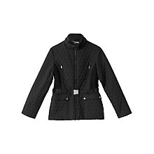 Buy Precis Petite Rhiannon Quilted Jacket, Black Online at johnlewis.com