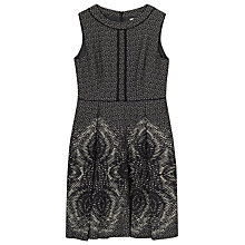 Buy Precis Petite by Jeff Banks Jacquard Dress, Multi/Black Online at johnlewis.com