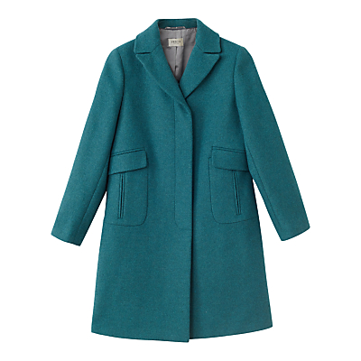Precis Petite Allison Coat, Teal