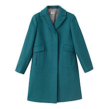 Buy Precis Petite Allison Coat, Teal Online at johnlewis.com