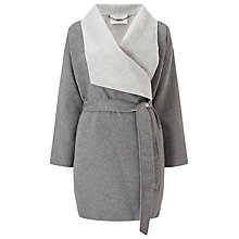 Buy Jacques Vert Double Faced Coat, Mid Grey Online at johnlewis.com