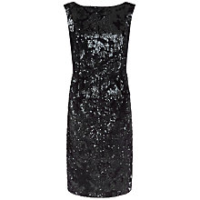 Buy Fenn Wright Manson Petite Universe Dress, Black Online at johnlewis.com