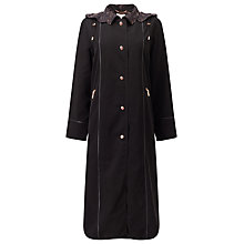 Buy Jacques Vert Classic Long Length Mac, Black Online at johnlewis.com