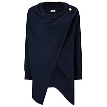 Buy Jacques Vert Oversized Wrap Cardigan, Navy Online at johnlewis.com