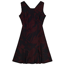 Buy Precis Petite Charlie Flippy Dress, Multi Black Online at johnlewis.com