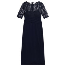 Buy Precis Petite Ally Lace Maxi Dress, Navy Online at johnlewis.com