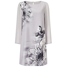 Buy Jacques Vert Petite Split Sleeve Tunic, Grey Online at johnlewis.com