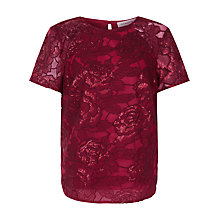 Buy Fenn Wright Manson Petite Volcano Top, Red Online at johnlewis.com
