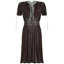 Buy Ghost Amelie Dress, Thunder Grey Online at johnlewis.com