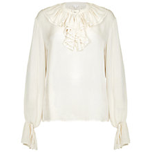 Buy Ghost Tilly Blouse, Winter White Online at johnlewis.com
